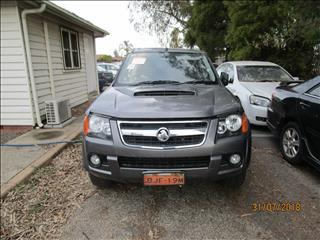 Holden Colorado Dual Cab Black 3/2009 4WD (WRECKING)