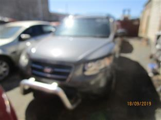 Hyundai Santafe wagon 8/2008 Grey in color diesel automatic transmission ( Dismantling )
