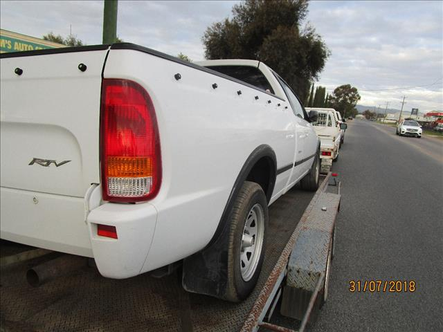 Ford BF MK2 Utility RTV White 6/2007 (WRECKING)