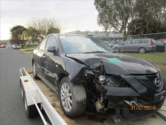 Mazda 3 Maxx Sports Sedan Black 9/2008 (WRECKING)