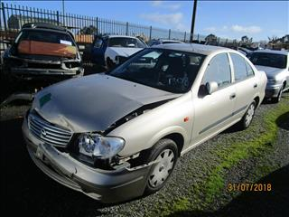 Nissan Pulsar N16 sedan 11/2004 ( Wrecking)