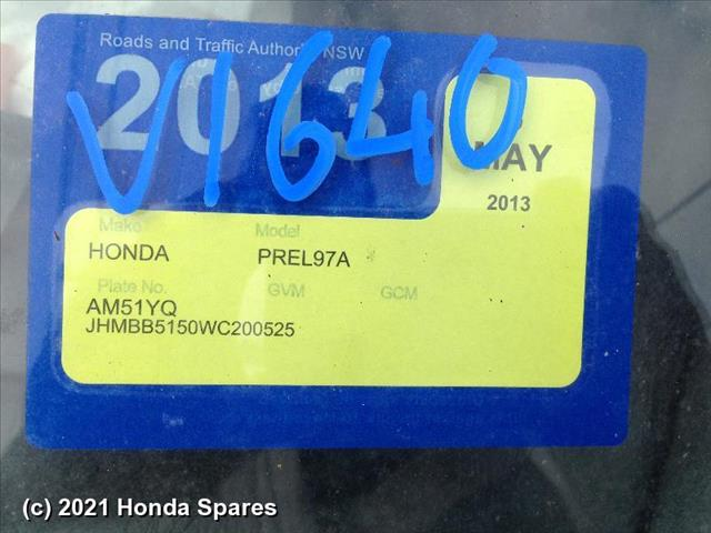 1998 HONDA - PRELUDE Pwr Dr Wind Switch
