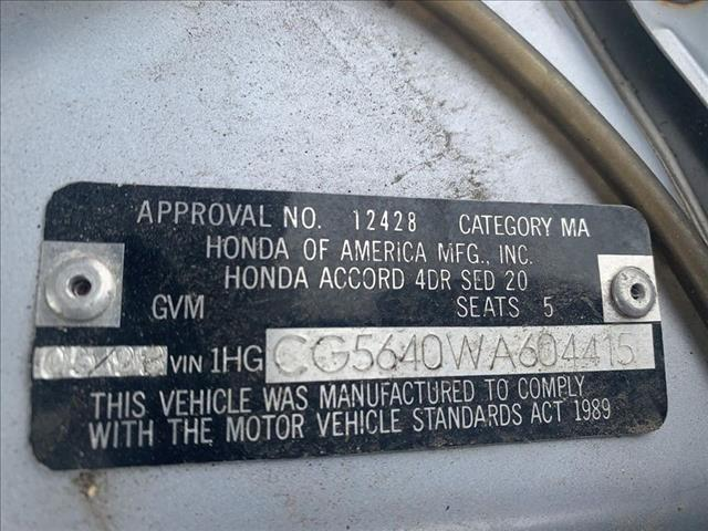RP2396 NOW WRECKING 1998 HONDA ACCORD 2.3L AUTOMATIC