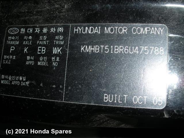 2005 HYUNDAI - GETZ Abs Pump/Modulator