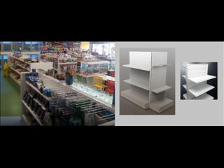 MAXe Adjustable Shelving. White. Neat. Practical.