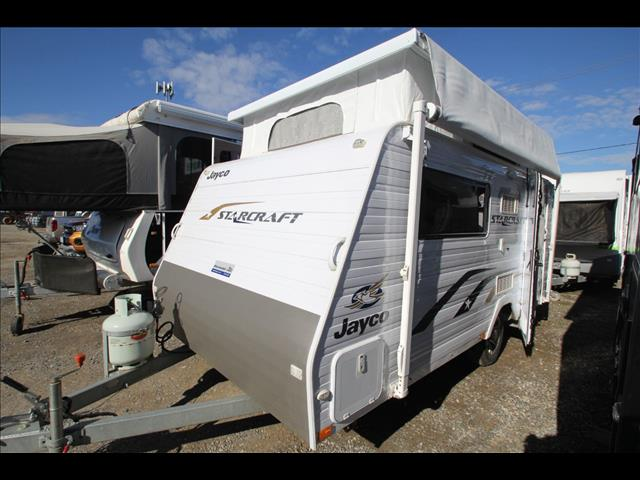 2013 Jayco Starcraft Poptop Single Beds