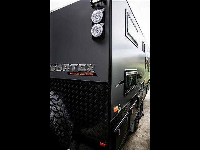 On The Move Caravans 19' Vortex Black Edition