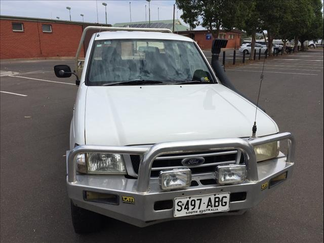 2003 FORD COURIER XL (4x4) PG CREW CAB P/UP