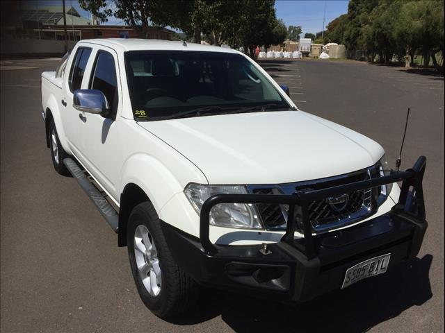 2011 NISSAN NAVARA ST-X (4x4) D40 SERIES 4 DUAL CAB P/UP