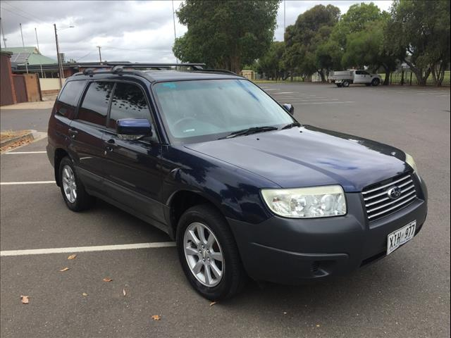 2006 SUBARU FORESTER XS LUXURY MY06 4D WAGON