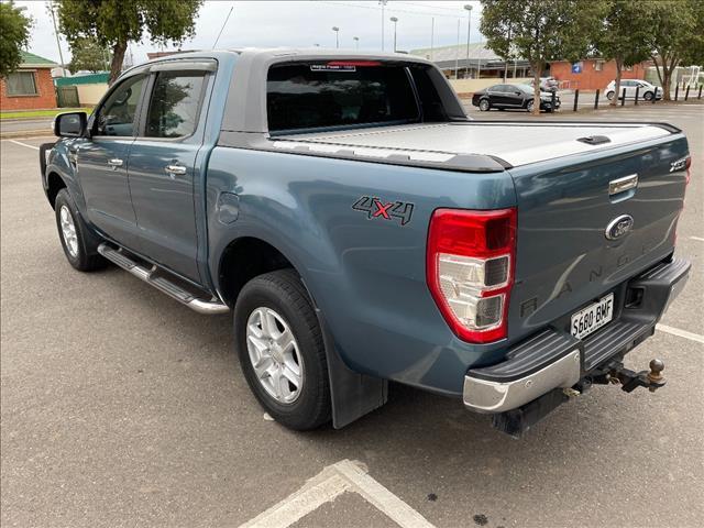 2013 FORD RANGER XLT 3.2 (4x4) PX DUAL CAB UTILITY