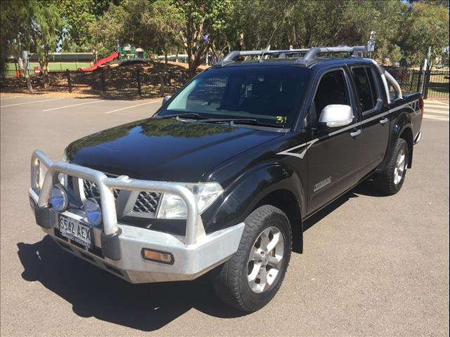 2009 NISSAN NAVARA TITANIUM EDITION (4x4) D40 DUAL CAB P/UP