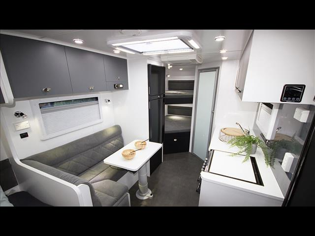 "On The Move Caravans 18'6"" Traxx Series II Off Roader Family"