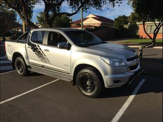 2014 HOLDEN COLORADO LTZ (4x4) RG MY15 CREW CAB P/UP
