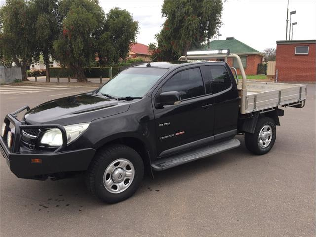 2012 HOLDEN COLORADO LX (4x4) RG SPACE C/CHAS