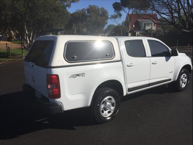 2014 HOLDEN COLORADO LX (4x4) RG MY14 CREW CAB P/UP