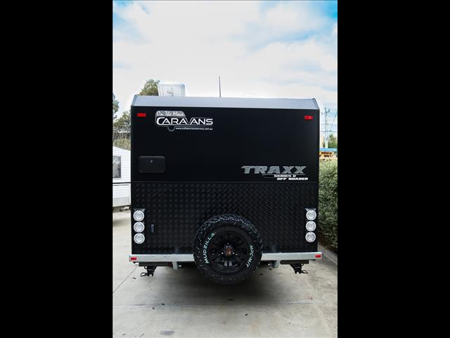 """On The Move Caravans 18'6"""" Traxx Series II Off Roader"""