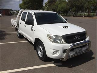 2010 TOYOTA HILUX SR KUN16R MY11 UPGRADE DUAL CAB P/UP