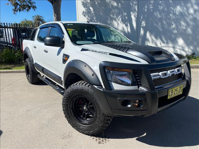 2014 Ford Ranger PX XL Hi-Rider Cab Chassis Double Cab 4dr Spts Auto 6sp, 4x2 1379kg 2.2DT (Sep)  Cab Chassis