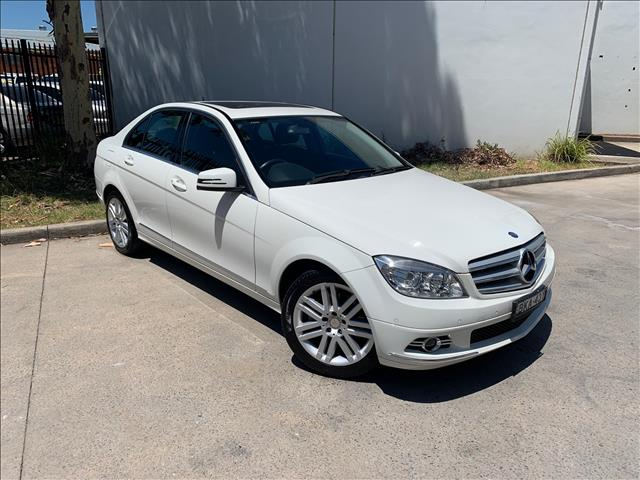 2009 Mercedes-Benz C-Class W204 C200 Kompressor Classic Sedan 4dr Spts Auto 5sp 1.8SC  Sedan