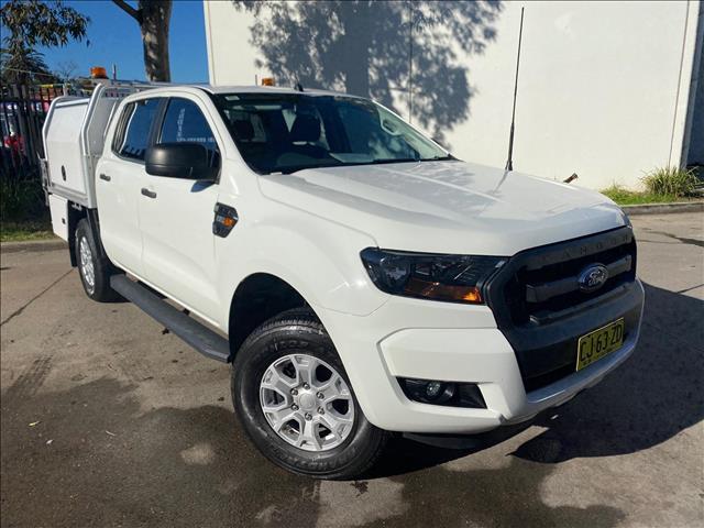 2016 Ford Ranger PX MkII XL Hi-Rider Utility Double Cab 4dr Spts Auto 6sp, 4x2 1186kg 2.2DT  Utility