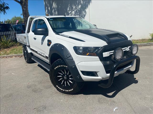 2017 Ford Ranger PX MkII XL Hi-Rider Cab Chassis Super Cab 4dr Spts Auto 6sp, 4x2 1420kg 2.2DT  Cab Chassis