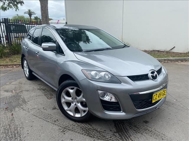 2009 Mazda CX-7 ER Series 2 Luxury Sports Wagon 5dr Activematic 6sp 4WD 2.3T [Oct]  Wagon