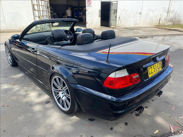 2003 BMW M3 E46 Convertible 2dr SMG 6sp 3.2i  Convertible