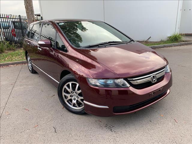 2009 Honda Odyssey 3rd Gen Luxury Wagon 7st 5dr Spts Auto 5sp, 2.4i [MY07]  Wagon