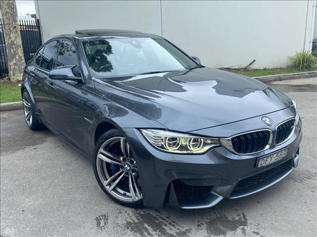 2016 BMW M3 F80 LCI Sedan 4dr M-DCT 7sp 3.0TT  Sedan