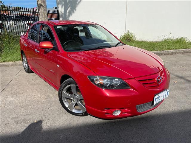 2005 Mazda 3 BK Series 1 SP23 Sedan 4dr Man 5sp 2.3i [Jan]  Sedan
