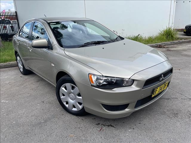 2010 Mitsubishi Lancer CJ ES Sedan 4dr Man 5sp 2.0i (Jan ) [MY10]  Sedan