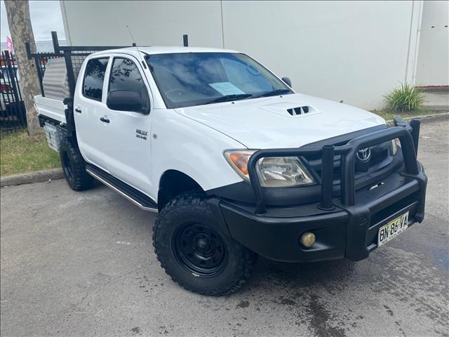 2008 Toyota Hilux KUN26R MY08 SR Utility Dual Cab 4dr Man 5sp, 4x4 965kg 3.0DT  Utility