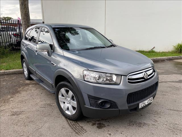 2011 Holden Captiva CG SX Wagon 7st 5dr Spts Auto 5sp 2.0DT (FWD) [MY10]  Wagon