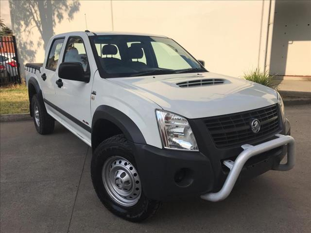 2007 Holden Rodeo RA MY07 LX Utility Crew Cab 4dr Man 5sp 4x4 1028kg 3.0DT  Utility
