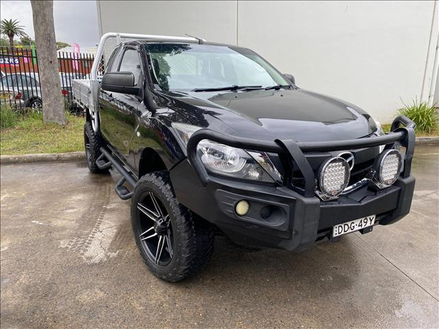 2015 Mazda BT-50 UP0YF1 XT Hi-Rider Cab Chassis Freestyle 4dr Spts Auto 6sp 4x2 1402kg 3.2DT  Cab Chassis