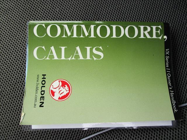 2002 HOLDEN COMMODORE ACCLAIM VXII 4D SEDAN