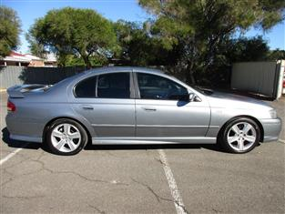 2004 FORD FALCON XR6 BA MKII 4D SEDAN