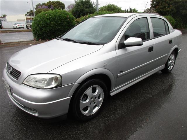 2000 HOLDEN ASTRA CD OLYMPIC EDITION TS SERIES II 4D SEDAN