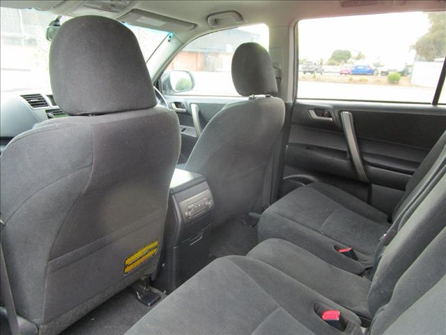 2010 TOYOTA KLUGER KX-R (4x4) 7 SEAT GSU45R MY11 UPGRADE 4D WAGON