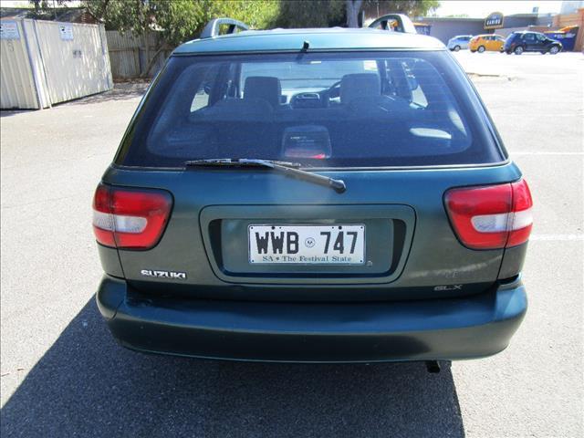 2000 SUZUKI BALENO GLX 4D WAGON