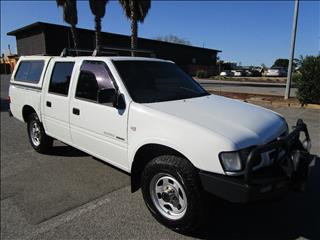 2002 HOLDEN RODEO LX (4x4) TFR9 MY02 CREW CAB P/UP