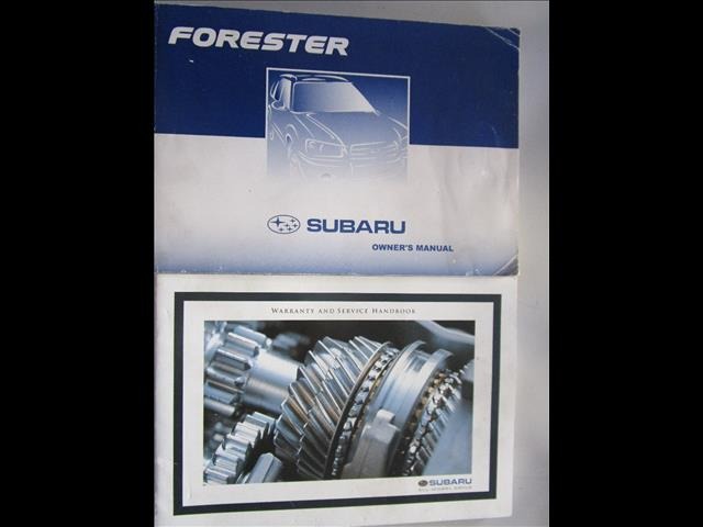 2004 SUBARU FORESTER XS MY04 4D WAGON