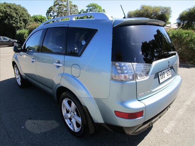 2007 MITSUBISHI OUTLANDER XLS (7 SEAT) ZG MY08 4D WAGON