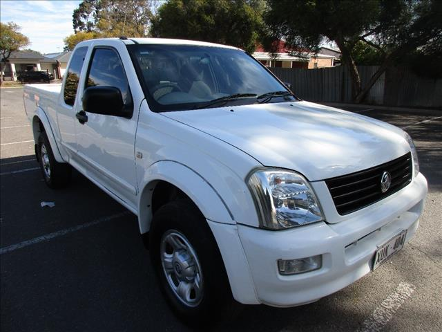 2005 HOLDEN RODEO LX RA SPACE CAB P/UP