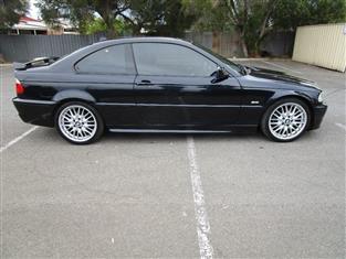 2002 BMW 3 25Ci E46 2D COUPE