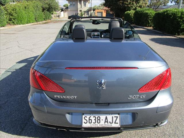 2007 PEUGEOT 307 CC DYNAMIC MY06 UPGRADE 2D CABRIOLET