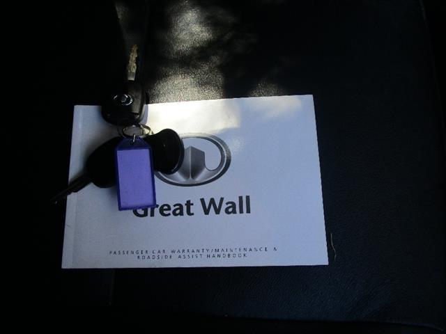 2011 GREAT WALL X240 (4x4) CC6461KY 4D WAGON