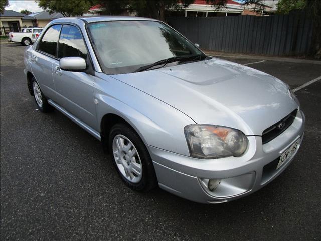 2004 SUBARU IMPREZA GX (AWD) MY04 4D SEDAN