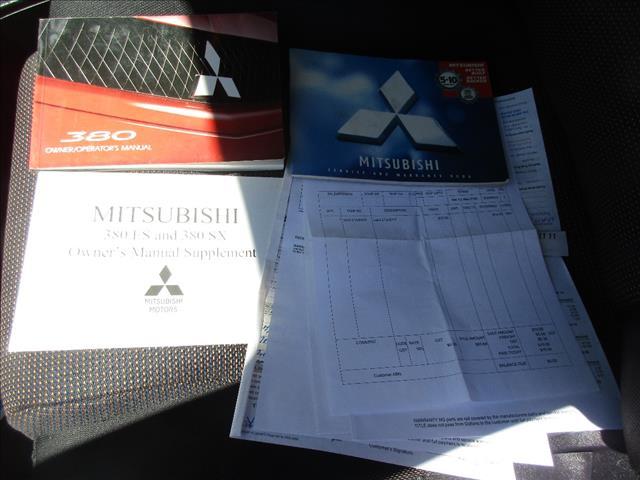 2006 MITSUBISHI 380 SX DB SERIES II 4D SEDAN